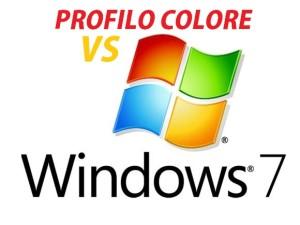 profilo colore del monitor e windows
