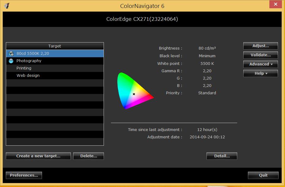 eizo color navigator
